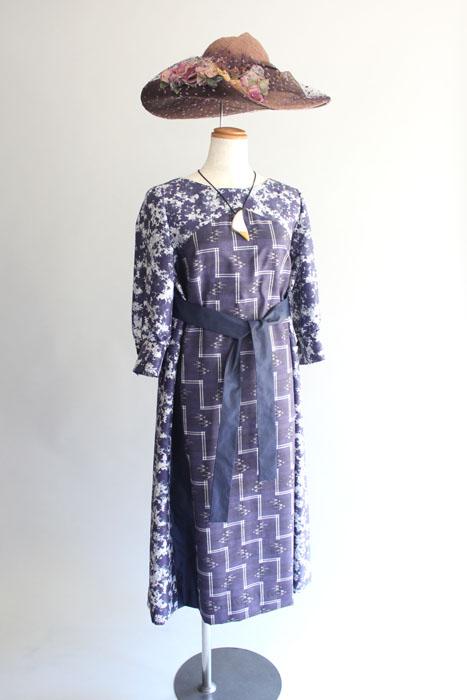 琉球絣ドレス・ムームー
